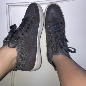 Michael Michael Kors Gray mesh sneakers LIMITED